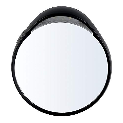 Tweezerman - Espejo cosmético con iluminación (10 aumentos, 96 gr.)