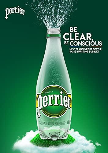 ペリエ(Perrier)プレーン炭酸水シュリンクパックPET[直輸入品]500ml×24本