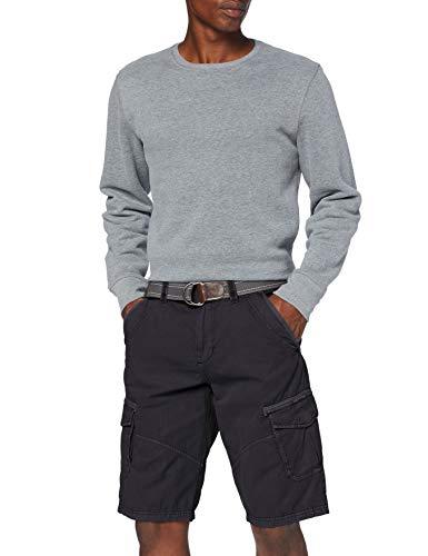 LERROS Herren Bermuda Cargo Shorts, Blau (Navy 485), W(Herstellergröße:36)