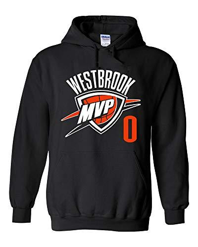 Black Russell Westbrook Oklahoma City MVP Hooded Sweatshirt Hoodie