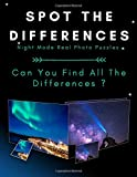 Spot The Differences - Night Mode - Real Photo Puzzles: From Easy To Hard Picture Puzzles For Adults, Teens and Kids ( Can You Find All The Differences ? )
