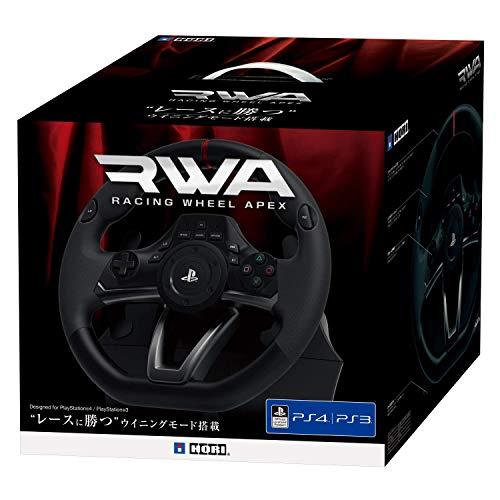 ホリ『レーシングホイールエイペックスforPlayStation4/PlayStation3/PC(PS4-052/4961818026131)』