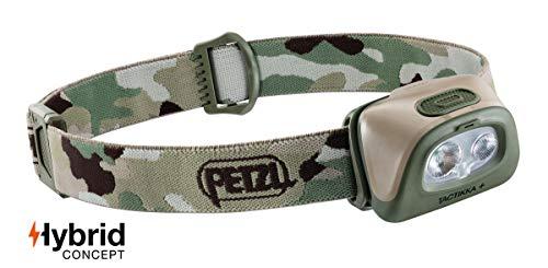 Petzl Tactikka+ Camo Stirnlampe, Kunststoff, one size