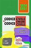 Codice Civile e Codice di Procedura Civile: 2021 (Italian Edition)