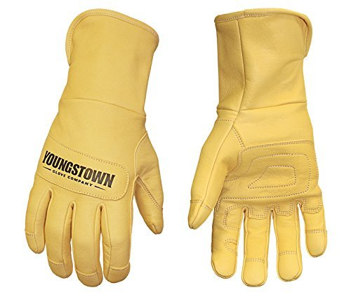 Youngstown Glove 12-3180-70-L Hybrid Plus Performance Work Gloves Gray Large