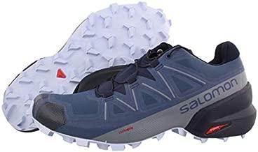 Salomon Women's Speedcross 5 W Trail Running Shoe, Sargasso Sea/Navy Blazer/Heather, 7.5