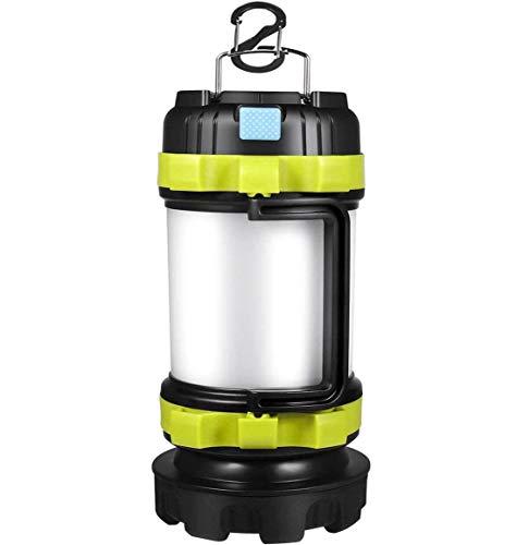 Lanterne de camping rechargeable, 1 000 lumens,...