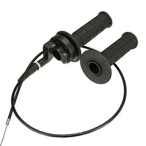 Throttle Handle Grip & Cable for 4-Stroke 50cc 90cc 110cc 125cc ATV Pit...