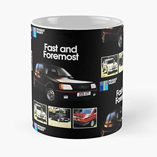 5TheWay GTI Peugeot Mug Best 11 oz Kaffeebecher - Nespresso Tassen Kaffee Motive