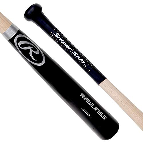 SNIPER SKIN Baseball & Softball Bat Grip | Better Alternative to Grip Tape - Universal Sizing for Adults & Youth - Black
