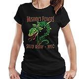 Photo de Cloud City 7 Mushniks Flowers Skid Row NYC Little Shop of Horrors Women's T-Shirt par