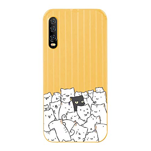 Find Discount Fantasydao Compatible with Huawei Mate 20 Pro,Ultra Thin & Light Slim Case Cute Luggag...