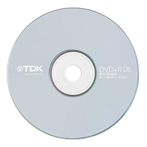 Tdk DVD+R 8.5gb 8x 240min