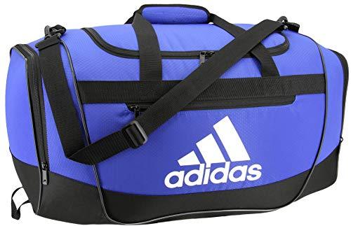 adidas Defender III Seesack, Blau/Schwarz/Weiß, groß
