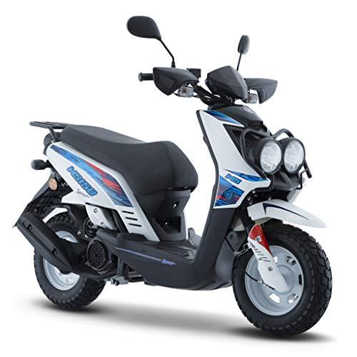 Motocicleta Italika de Motoneta- Modelo WS 150 Sport Blanco Naranja