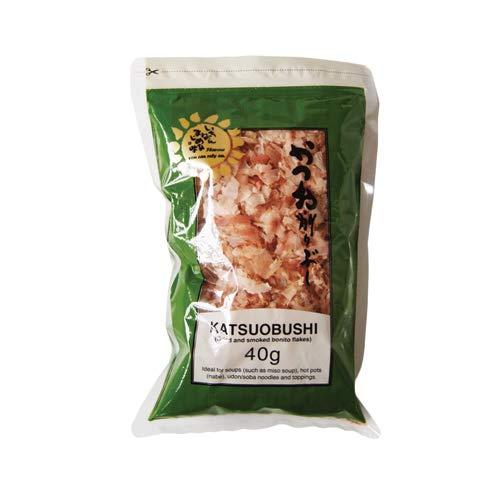 Katsuobushi (secados y ahumados escamas del bonito) 40g (paquete de 2)