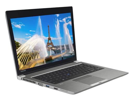 Toshiba tecra z240 laptop notebook, intel core i5 processor, |8gb ram| |256 solid state drive| wifi & bluetooth, webcam, windows 10 pro (renewed)