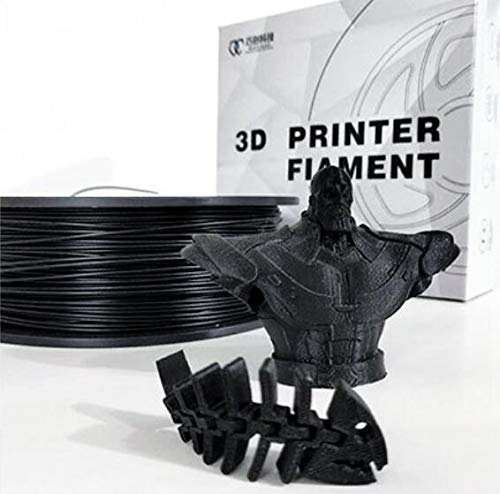 Black PLA 3D Printer Filament 1.75mm 1kg Dimensional Accuracy +/- 0.03 mm,tpu Filament for 3D Printers & 3D Pens