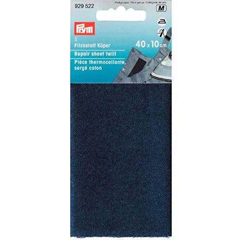 Prym 12 x 45 cm Flickstoff-Körper zum Aufbügeln, blau