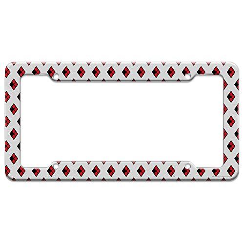41V+RekpOFL Harley Quinn License Plate Frames