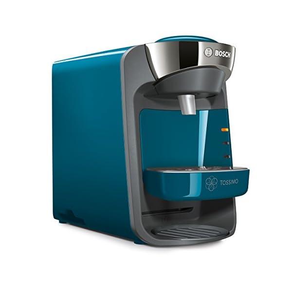 Bosch TAS3205 TASSIMO Suny Cafetera de cápsulas con sistema SmartStart,