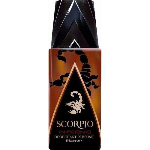 Scorpio - Déodorant Spray Inferno 150Ml - Lot De 3 - Livraison Gratuite