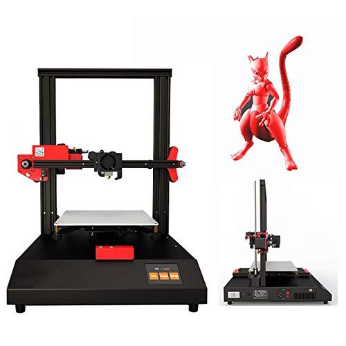 SYXW Impresora 3D Casera Kit De Montaje Rápido De Bricolaje De Grado Industrial, Nivelación Automática Dos Métodos De Impresión, Impresión Fuera De Línea E Impresión En Línea
