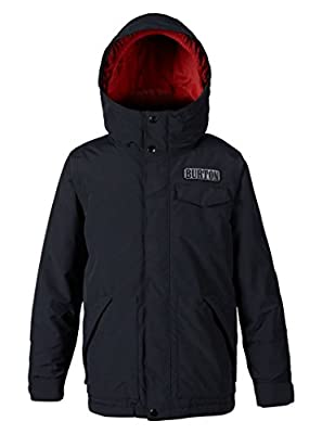 Burton Little Boys' Dugout Jacket, True Black, Medium