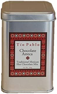 Organic Azteca Chocolate | Traditional Mexican Hot Chocolate Mix With Chili and Spices | Dairy and Gluten Free
