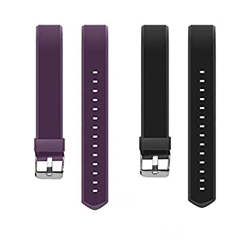 AndThere ID 115 Plus HR Replacement Strap Smart Bracelet Band Length Adjustable 2 Sets