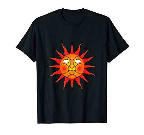 Pagan Folk Horror Revival Wickerman Sun Sigil T-Shirt