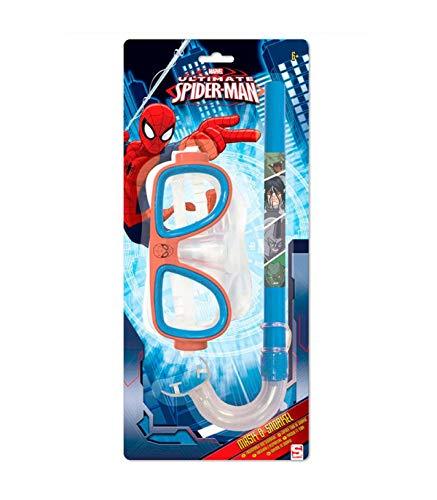 Set gafas tubo Spiderman Marvel