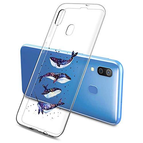 Suhctup Compatibile per Samsung Galaxy J1Mini / J105, Cover Galaxy J1Mini Trasparente con Animale Disegni, Custodia Gel Trasparente Morbida Silicone Sottile TPU Case [Ultra Leggera e Chiaro]