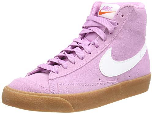 Nike Blazer Mid '77, Zapatillas Deportivas Mujer, Beyond Pink White Gum Med Brown, 40 EU