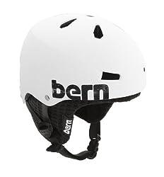 Bern Macon EPS Adjustable Helmet with Black Fleece
