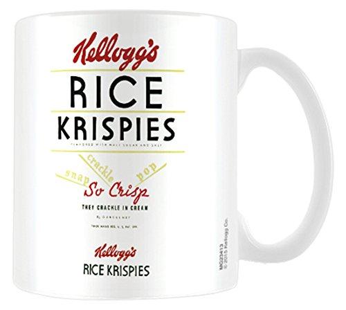 Kelloggs mg234138x 11,5x 9,5cm Vintage–Juego de puzles de arroz Taza de cerámica, Multicolor