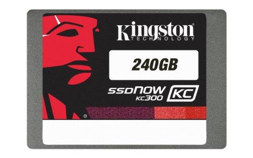 """Kingston KC300 Unità a Stato Solido Interne SSDNow Aziende 240 GB, 2.5"""" SSD SATA 3"""