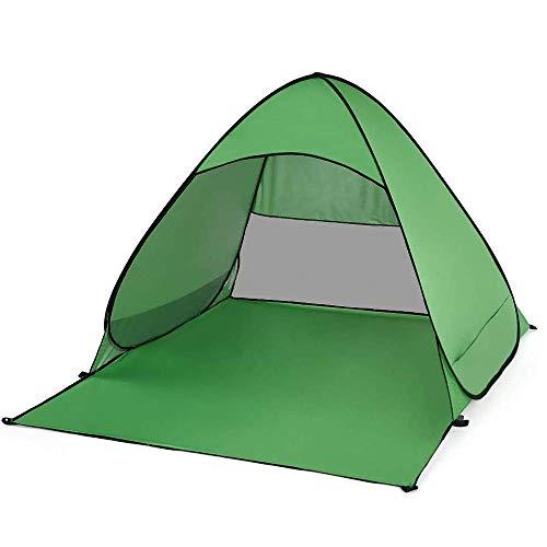 Plegable al aire libre Campamento Playa Sombra Tienda de campaña, rápida y apertura automática de cuatro estaciones Carpa fácil de plegar y ligero 150 * 165 * 100 Cm camping tienda automática eterna f