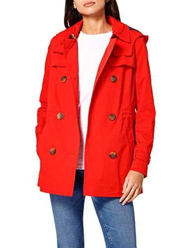 Esprit 011EE1G302 Jacket, 630/rouge, M Femme