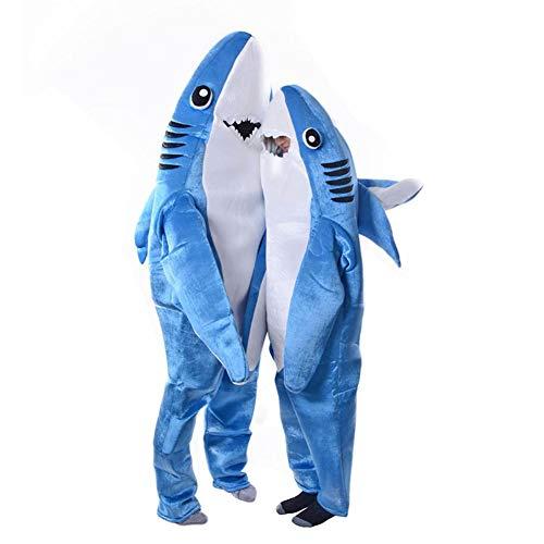 Sunnymal – overol para disfraz de tiburón para adultos y niños, ADULT, Large