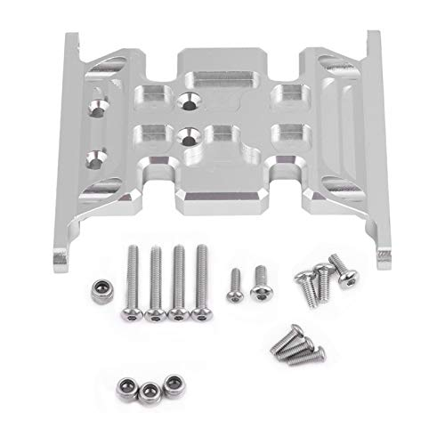 EVTSCAN Aluminum Alloy Accessory Part Gear Box Mount Holder for Axial SCX10 90035/90027 / 90028/90022 / 90036 / SCX10 II 90047 / TFL RC Crawler Car