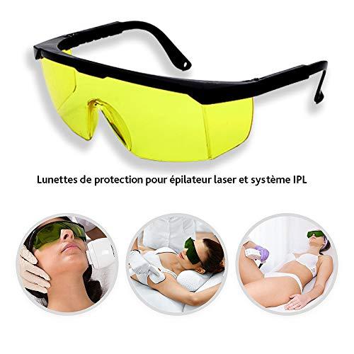Gafas Protectoras láser IPL Equipos Belleza, Amarillo