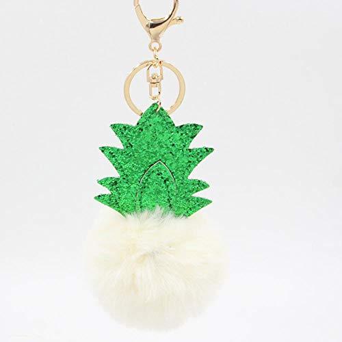 ou lida 8cm Ananas Weihnachtsbaum plüsch schlüsselanhänger Handtasche anhänger schlüsseltasche schmuck 12