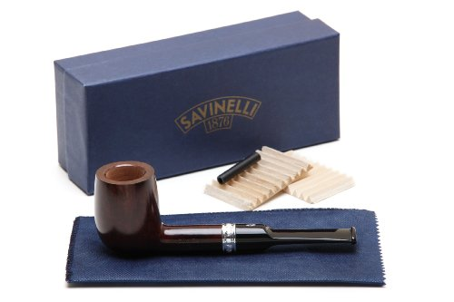 Savinelli Trevi Liscia Smooth 114 Tobacco Pipe