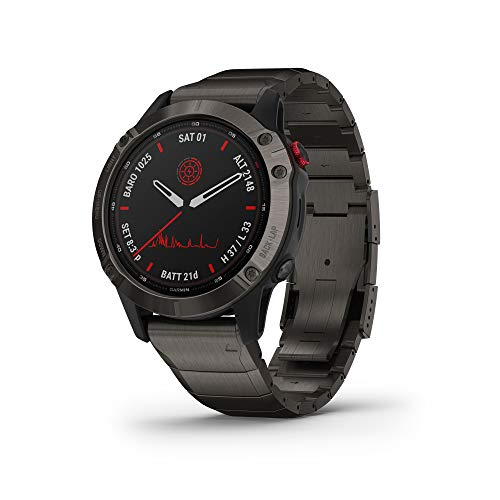 Most Durable Watches for Construction Workers - Garmin Fenix 6 Pro