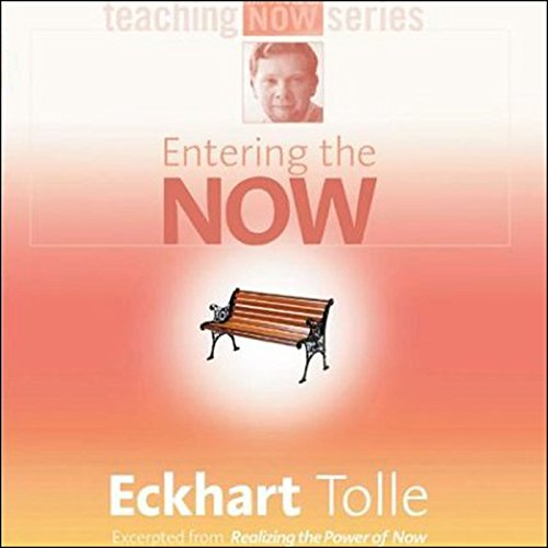 Entering the Now audiobook cover art