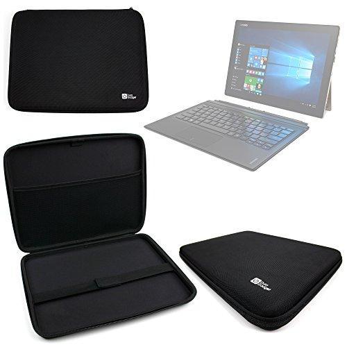 DURAGADGET-Funda para tablet Lenovo MIIX Ideapad 700 pantalla 12 pulgadas, diseño rígido, color negro