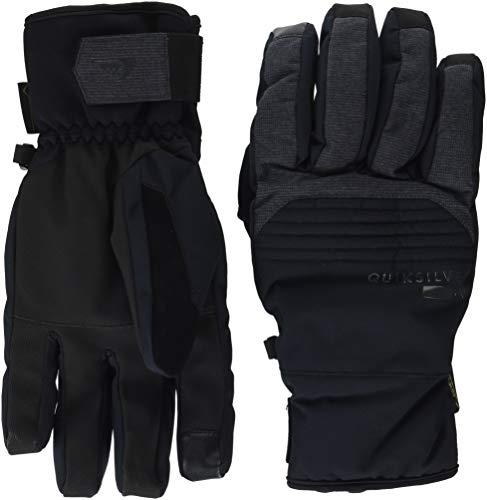 Quiksilver Men's Hill Gore-TEX TECH Snow Gloves, black, S