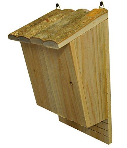 Große Fledermausbox Holz