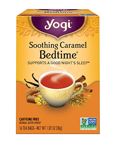 Yogi Tea, Soothing Caramel Bedtime, 16 Count